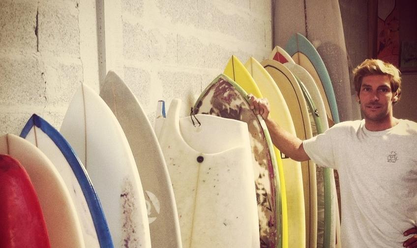 location de planches de surf à domicile biarritz
