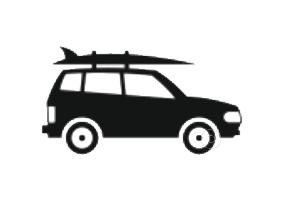 location et livraison de planches de surf à domicile