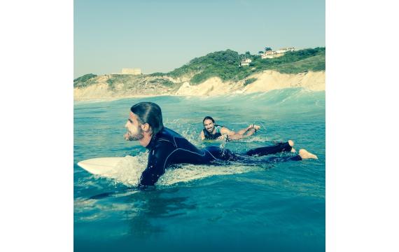 à la découverte des spots de surf de la côte basque: La plage des 100 marches