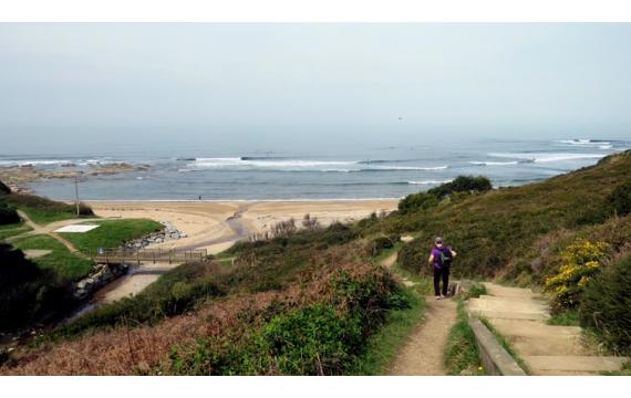 à la découverte des spots de surf de la côte basque: Cénitz
