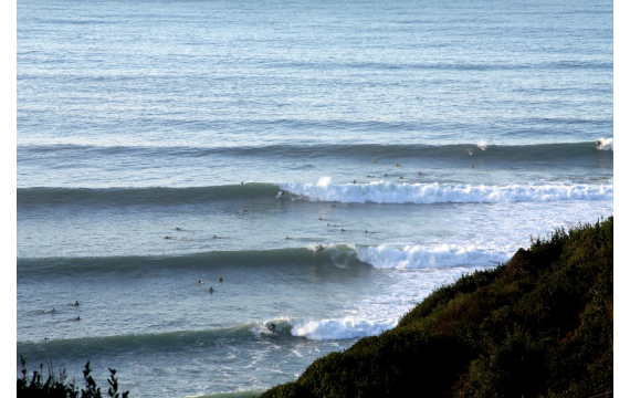 discover the surf spots of the Basque coast: Lafitenia