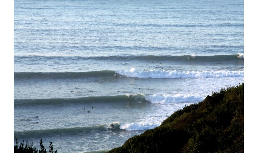 À la découverte des spots de surf de la côte basque: Lafitenia - Marty Surf  Delivery
